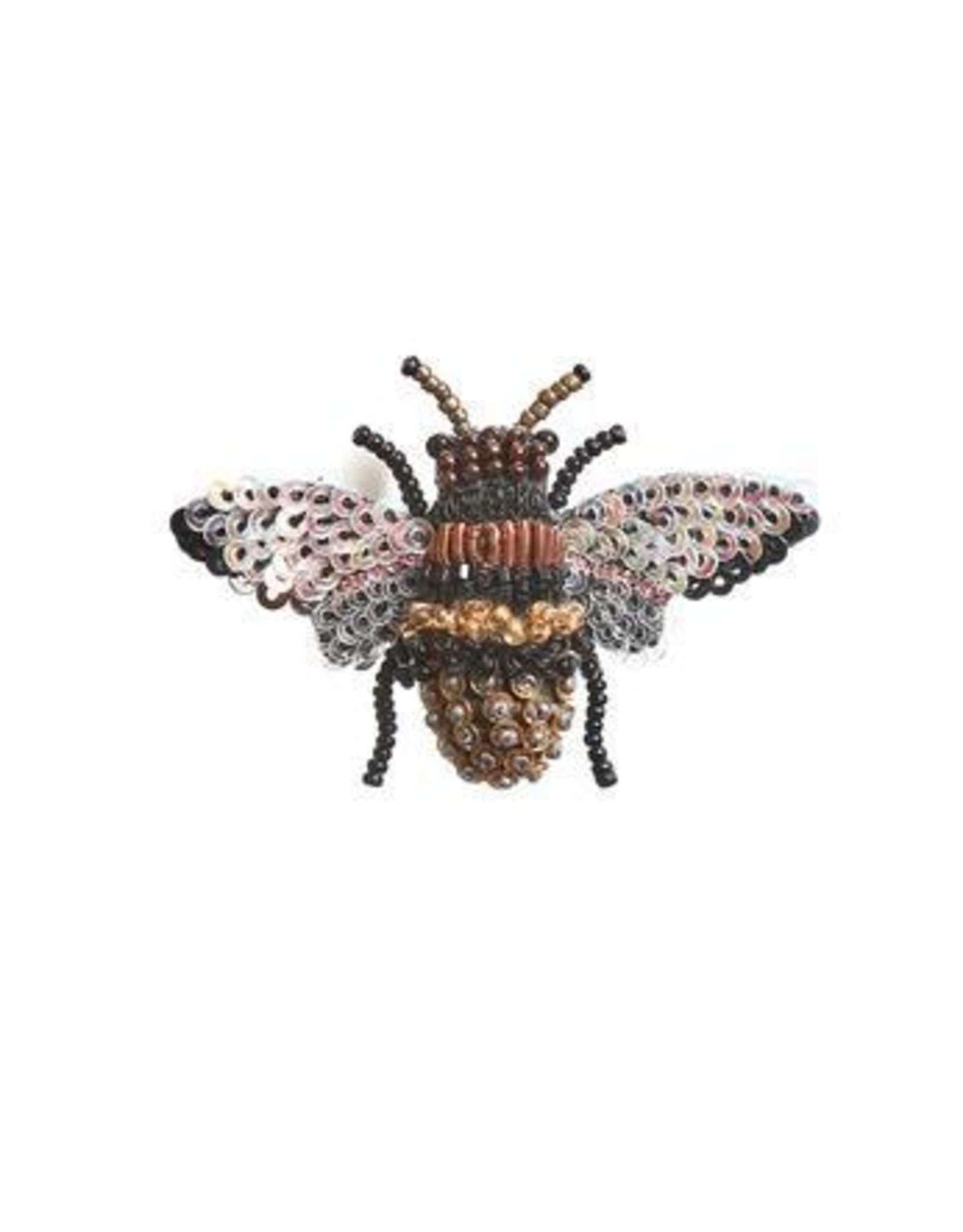 Honey Bee Brooch Pin