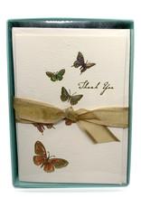 Thank You Cards Butterflies