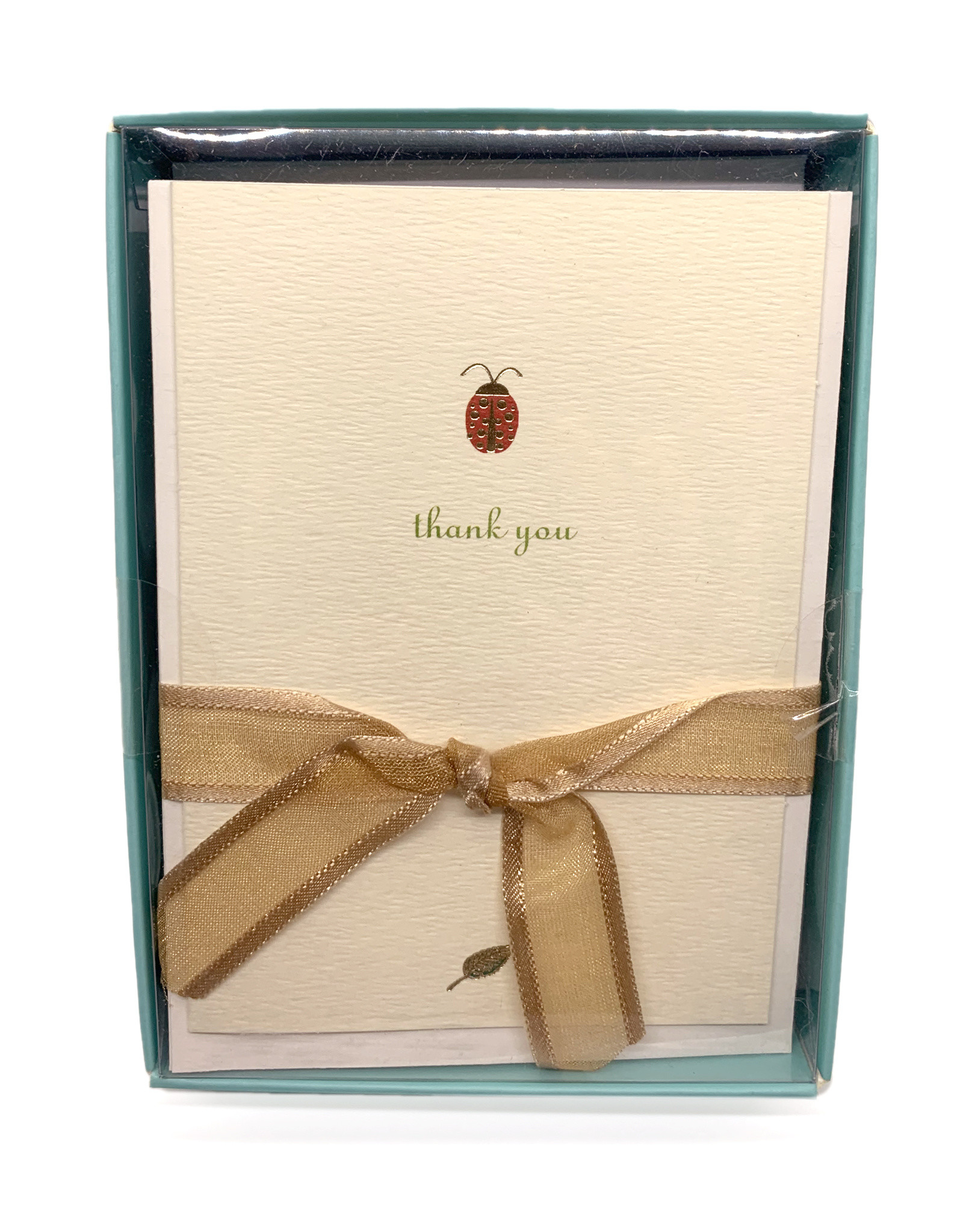 Thank You Cards Petite Lady Bug