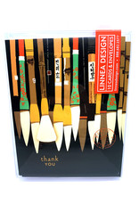 Boxed Cards Thank You Brushes