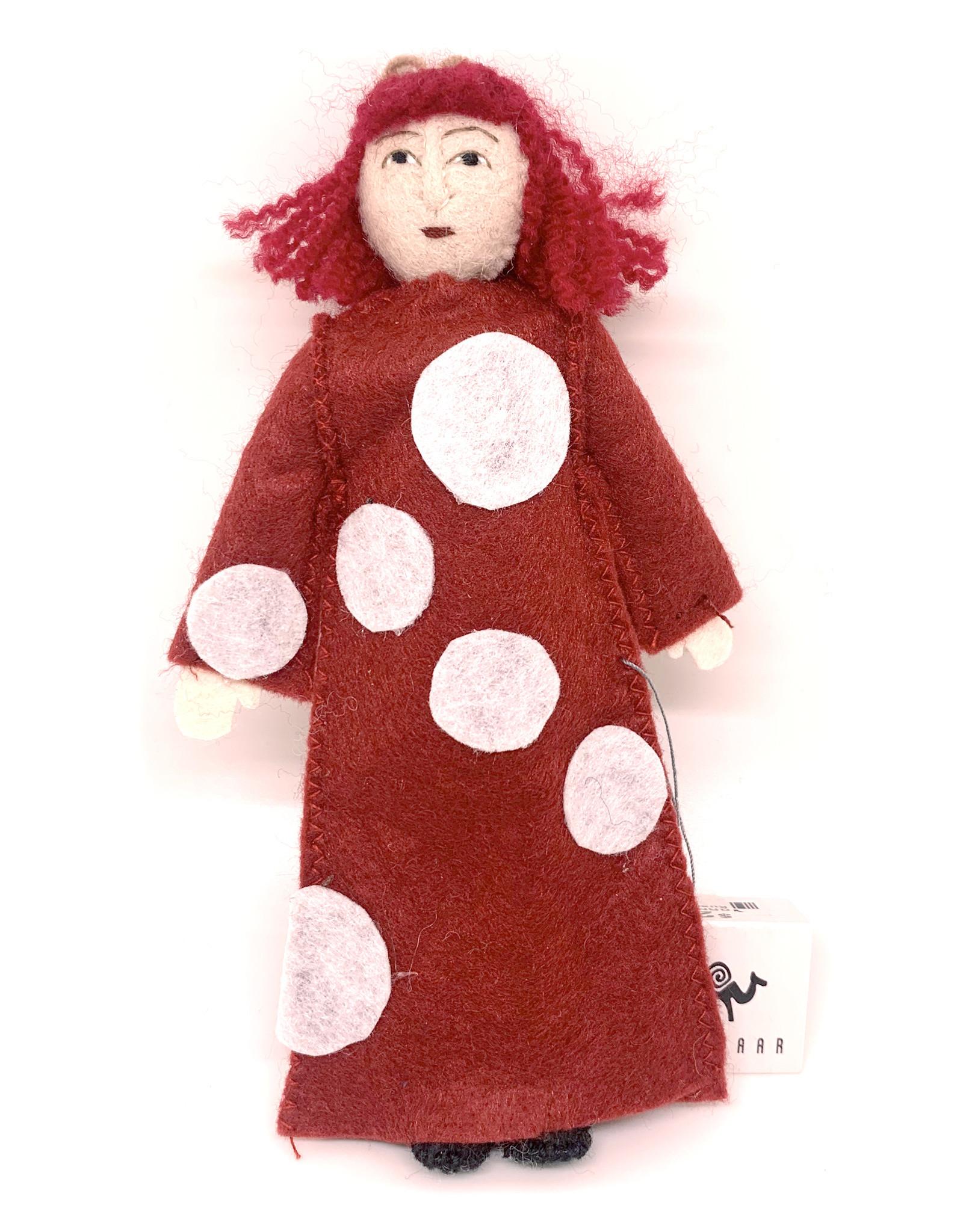 Felt Yayoi Kusama Doll