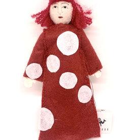 Yayoi Kusama Felt Doll