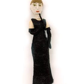 Felt Ornament Audrey Hepburn