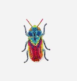 Moroccan Jewel Beetle Brooch