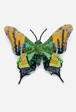 Emperor Of India Butterfly Brooch Pin