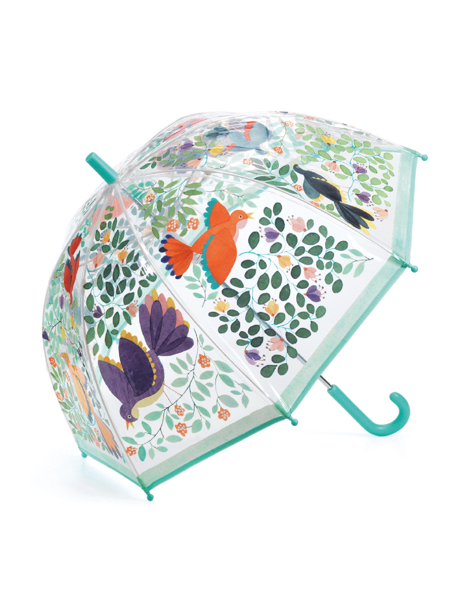 Flowers and Birds Kids Umbrella