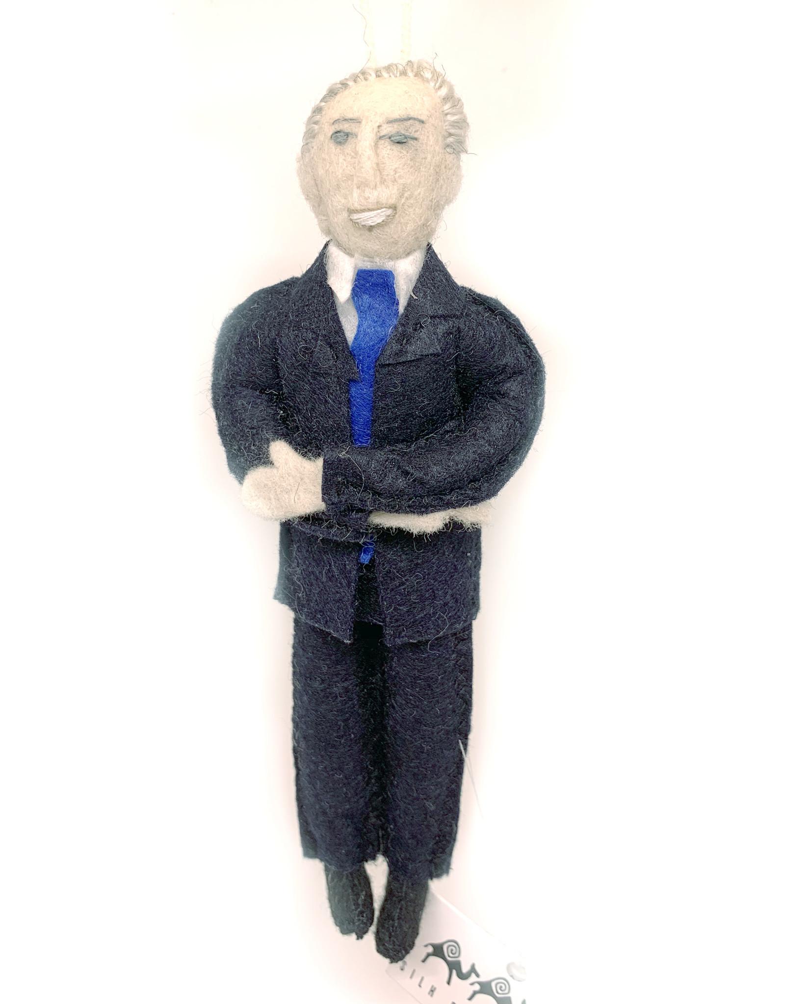 Felt Joe Biden Doll