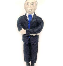 Joe Biden Felt Doll