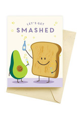 Smashed Avocado Birthday Card