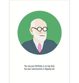 Freud Birthday Card