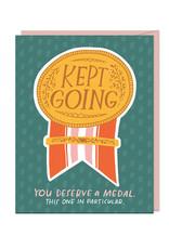 Keep Going Sticker Card