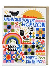 A New Year Birthday Card
