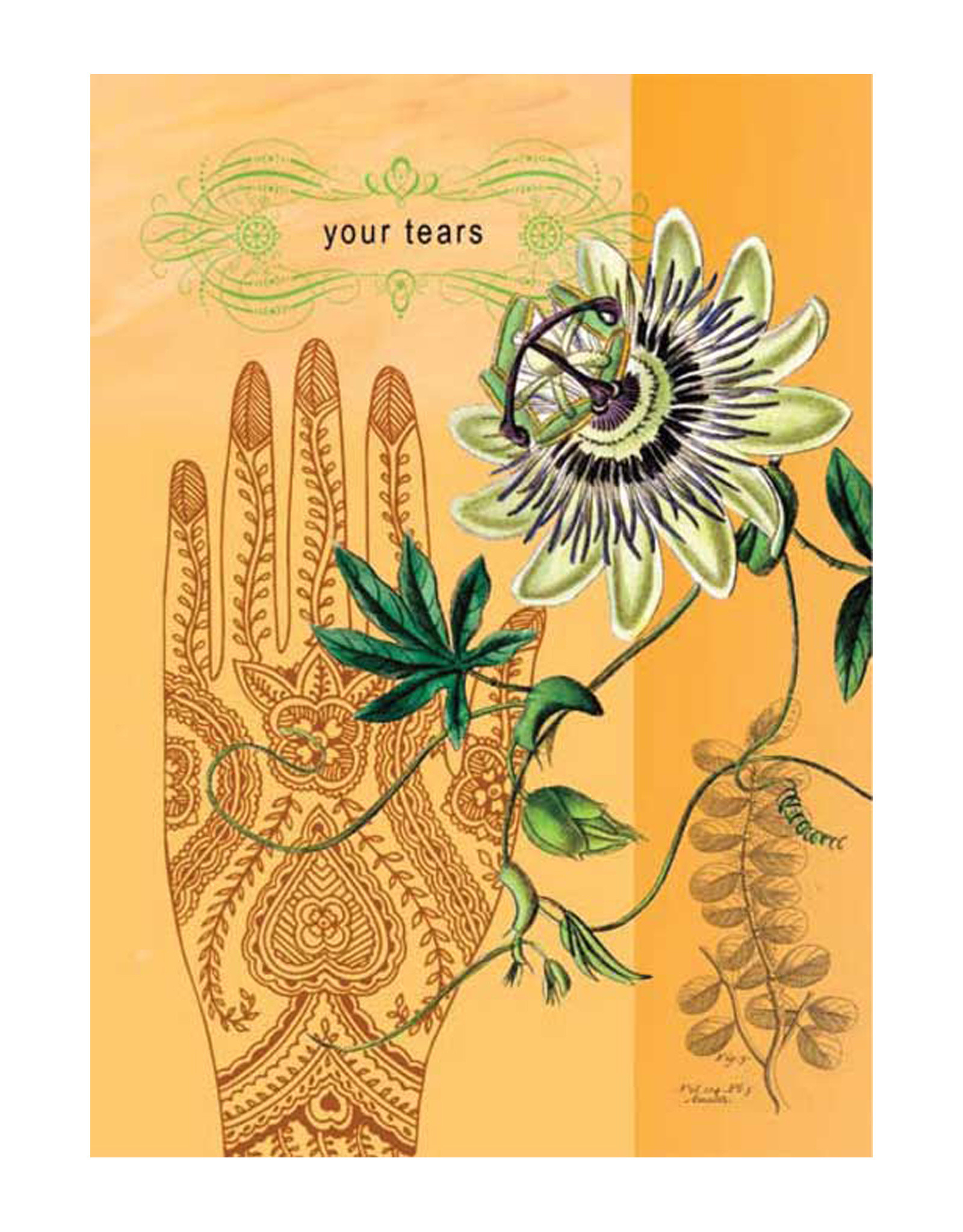 Your Tears Sympathy Card