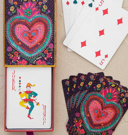 Happy Heart Playing Cards