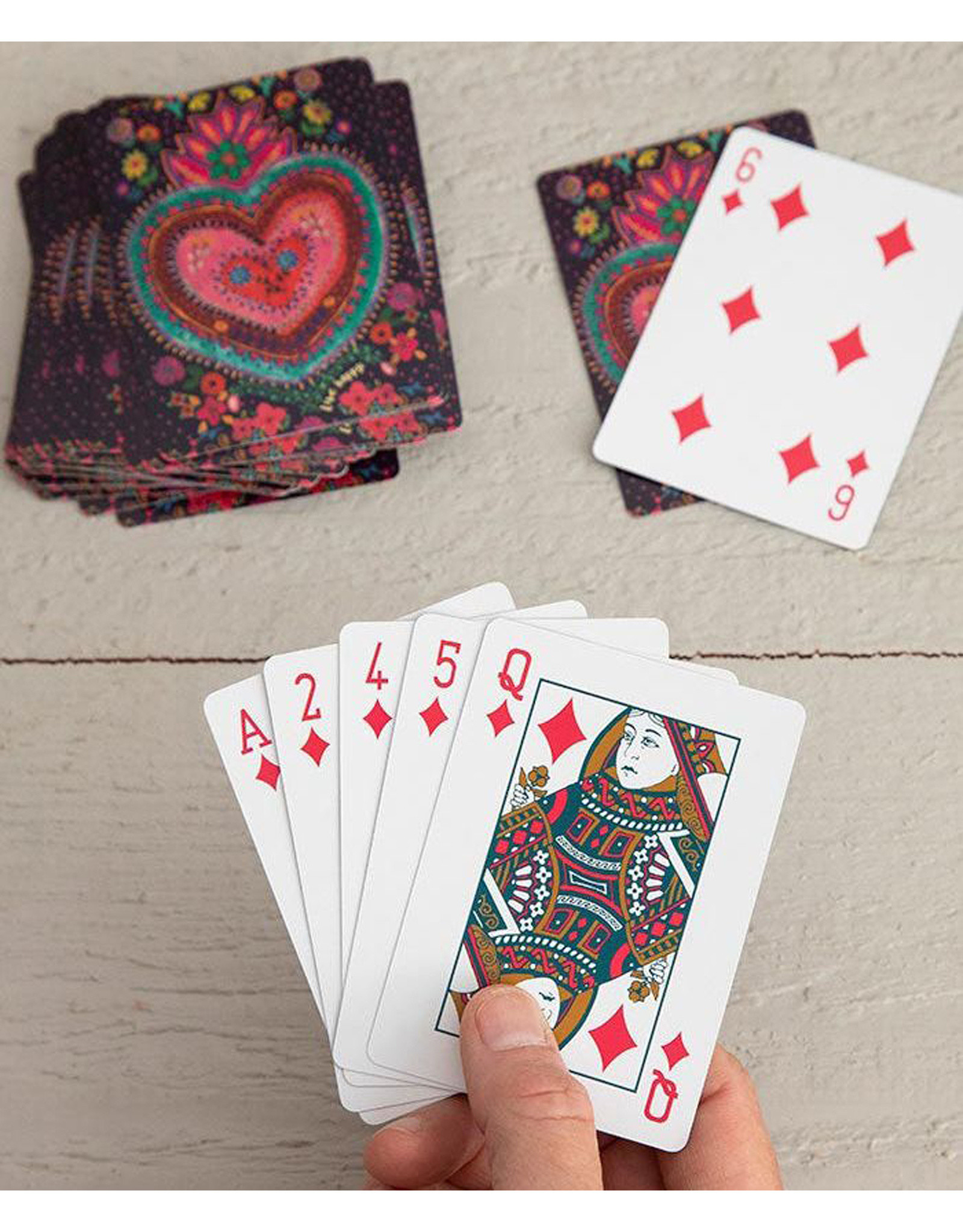 Playing Cards Happy Heart