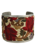 Floral Embroidered Cuff
