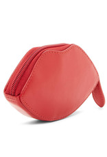 Coin Purse Lips Red