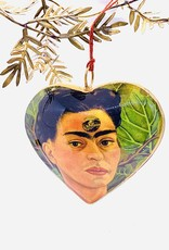 Frida and Diego Heart Ornament