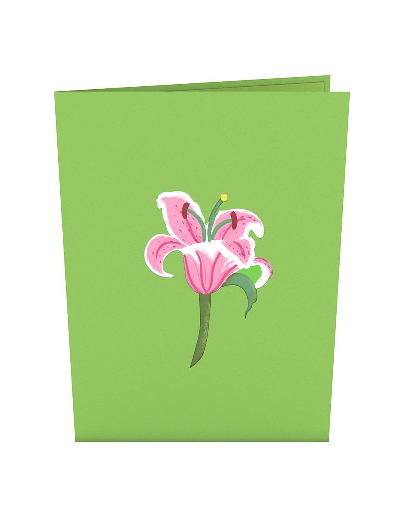 Lily Bloom 3D Popup Card