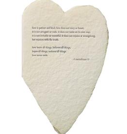 Heart Corinthians Card