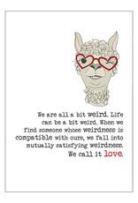 Weird Love Dandelion Card