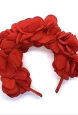Headband Red Roses