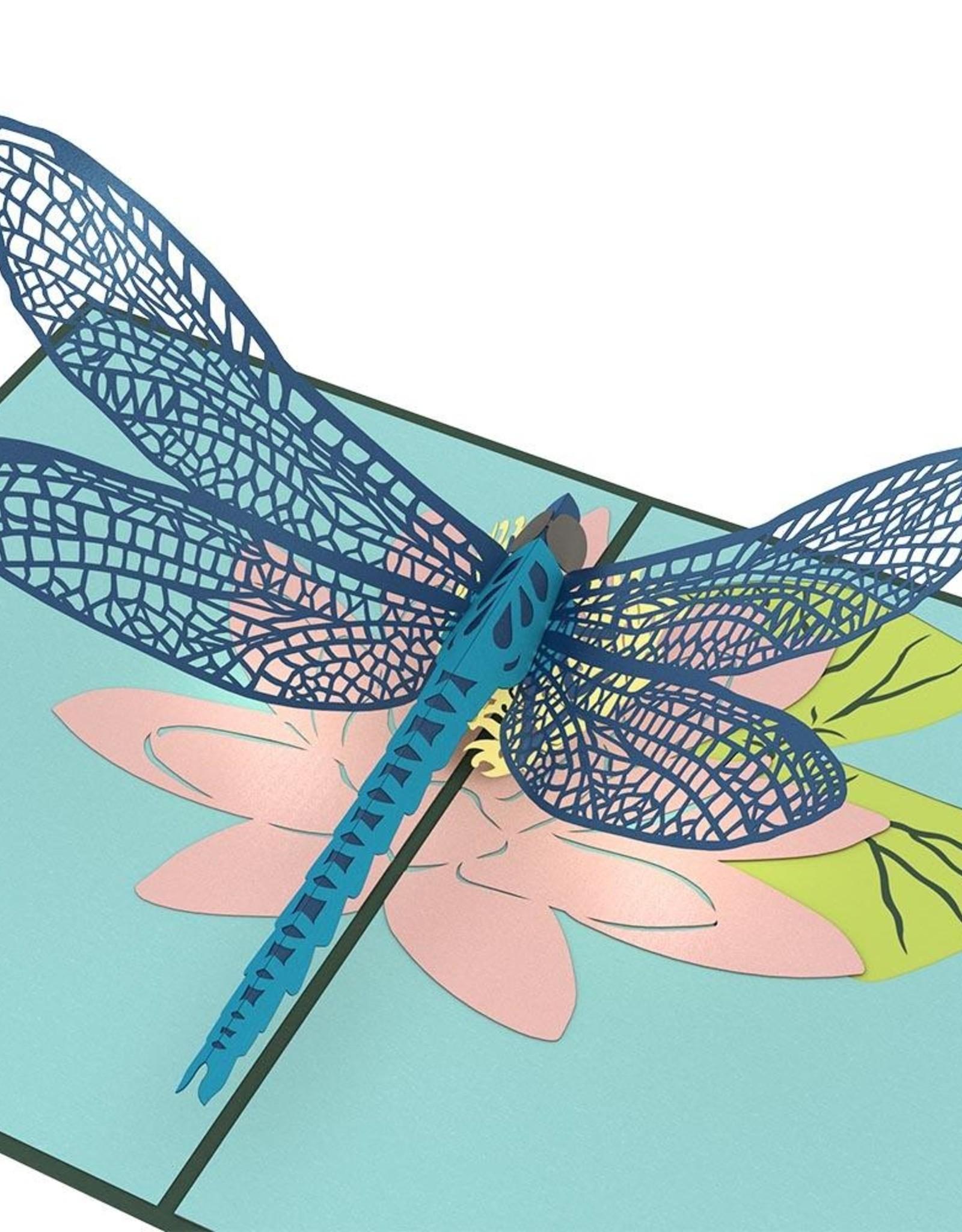 3D Dragonfly Pop-Up Card