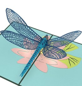3D Dragonfly Pop-Up Card