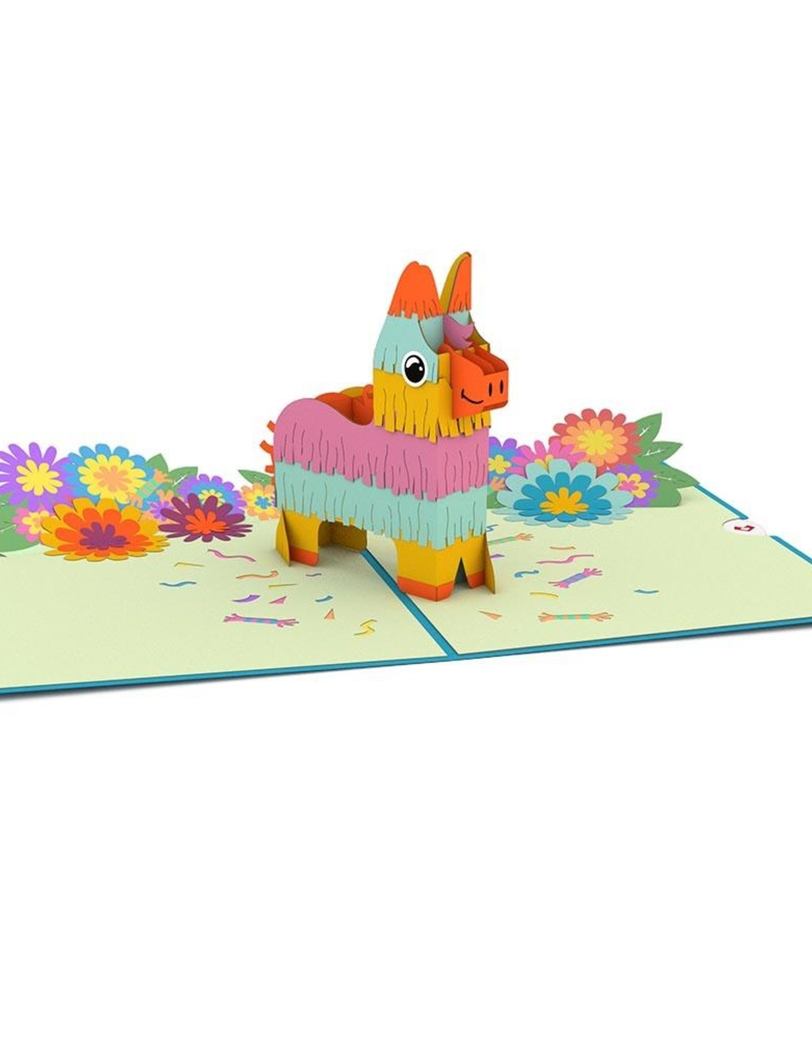 3D Popup Pinata Card