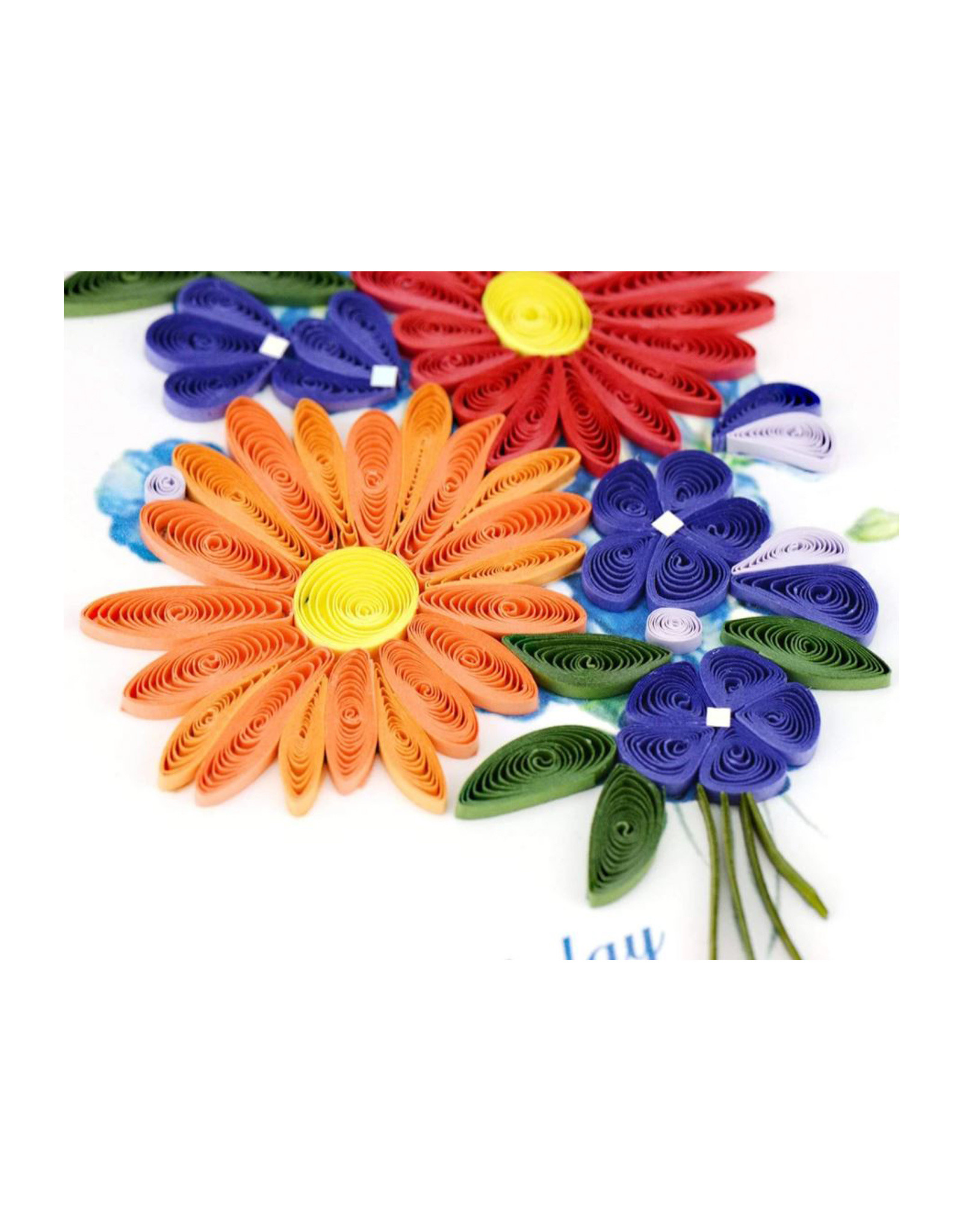 Wildflowers Birthday Card