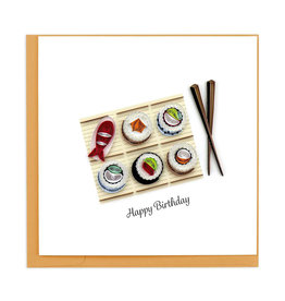 Sushi Birthday Card