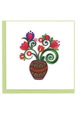 Terracotta Bouquet Card