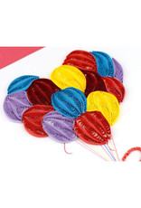 Balloon Quilled Card
