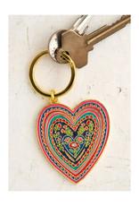 Keychain Enamel Heart