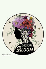 Let Equality Bloom Button