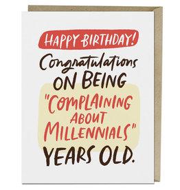 Complain About Millennials Card