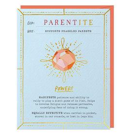 Parentite Fantasy Stone Card