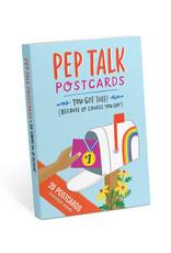 Pep Talk Postcard Book