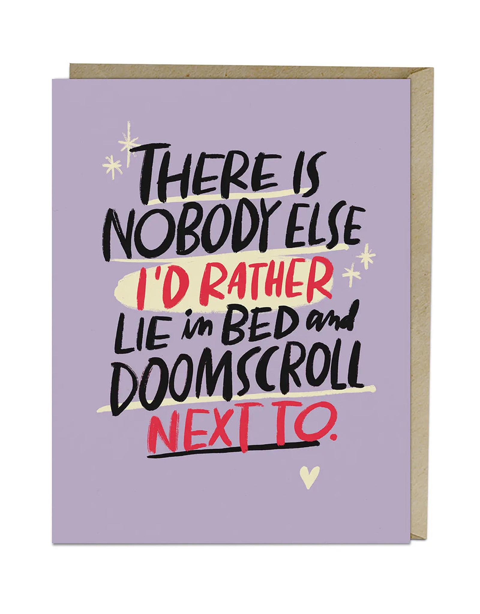 Doomscroll Card
