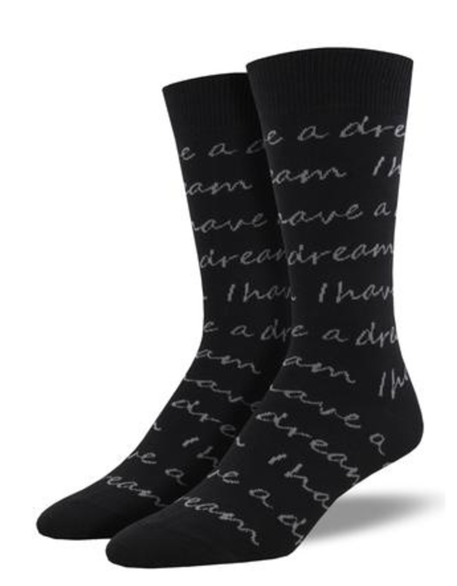 Mens MLK Quote Socks