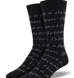 Mens MLK Quote Socks