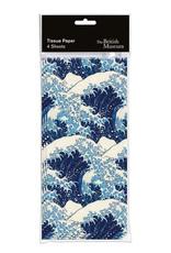 Hokusai Waves Tissue
