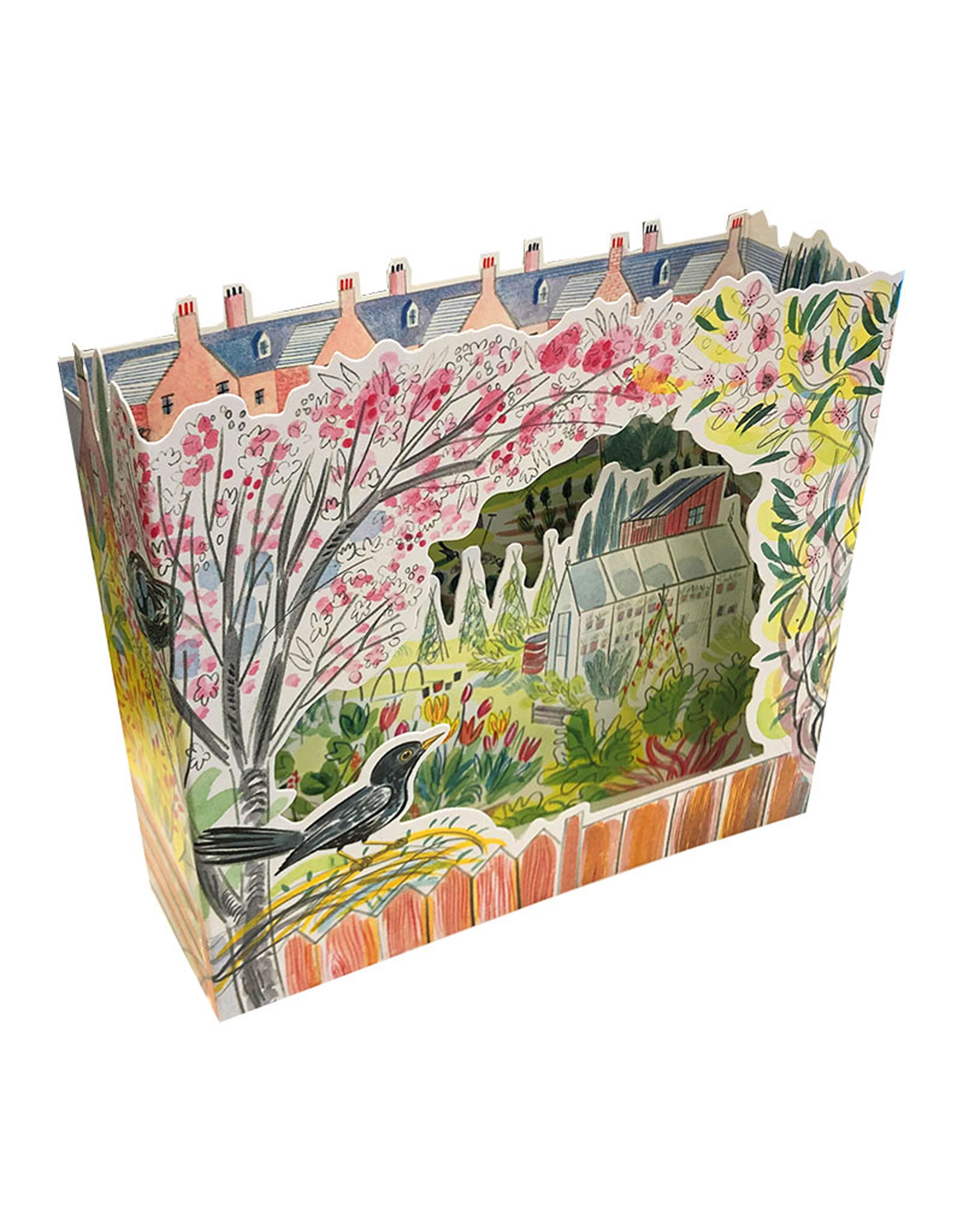 3D Allotments Birds Card