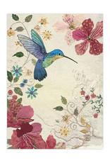 Azalea Hummingbird Card