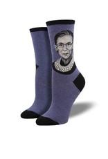 RBG Heather Blue Socks
