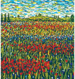 Summer In France Thank You Card