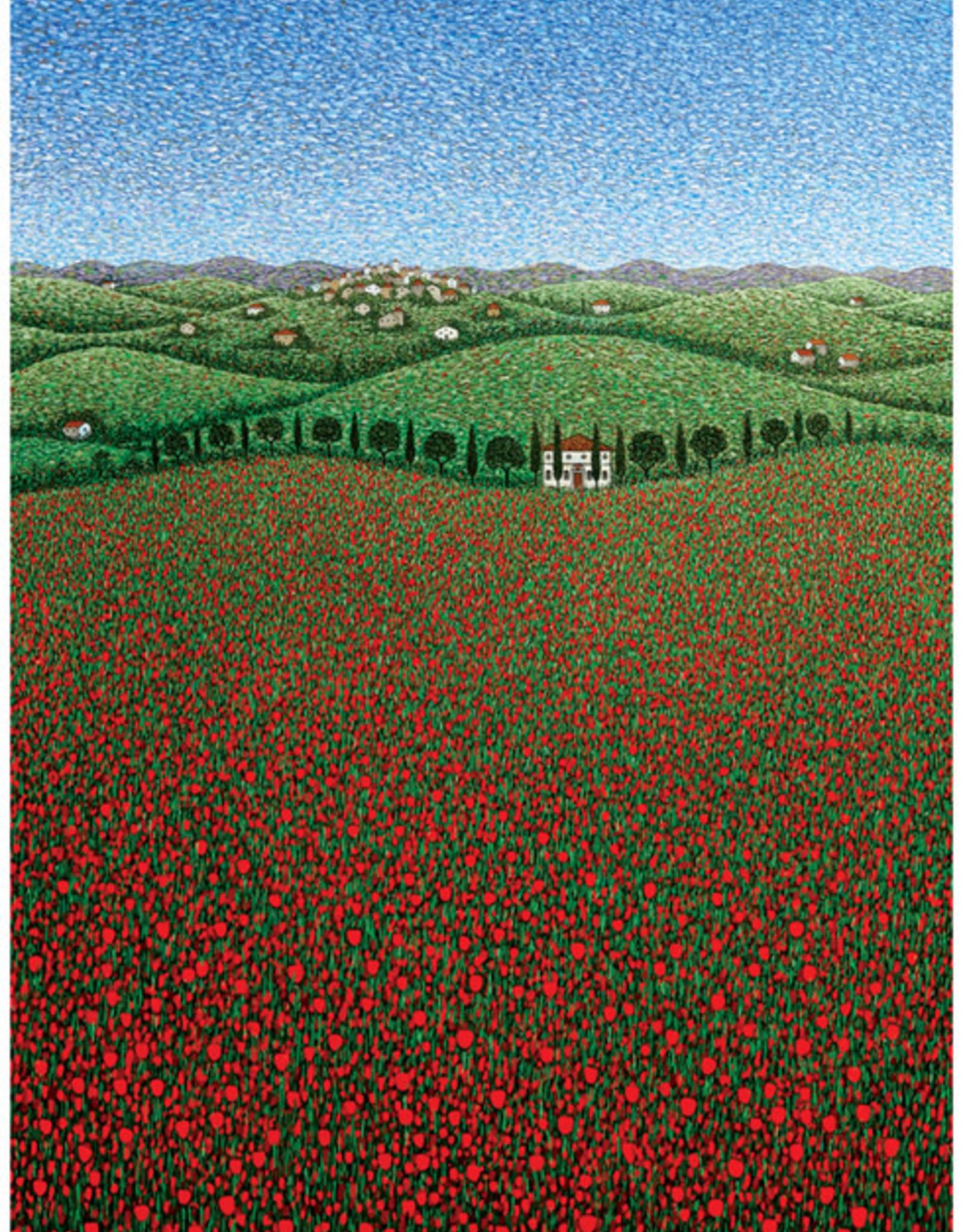 Papaveri Poppies Birthday Card