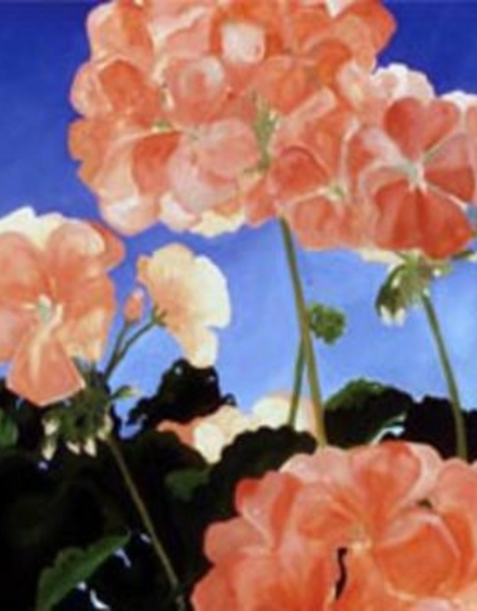 Geraniums Thank You Card
