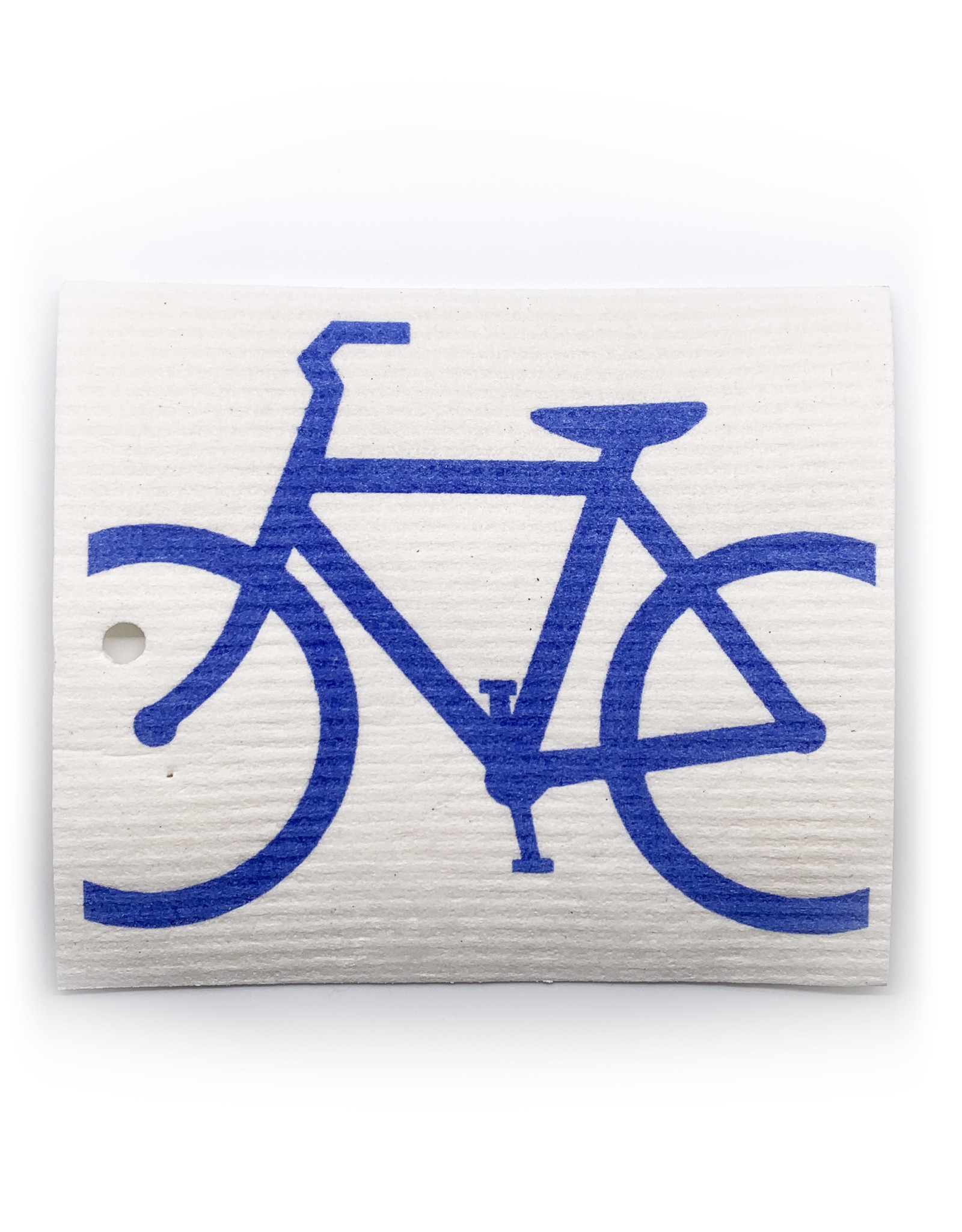 Swedish Dishcloth Bike Blue