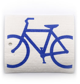 Swedish Dishcloth Bike Blue